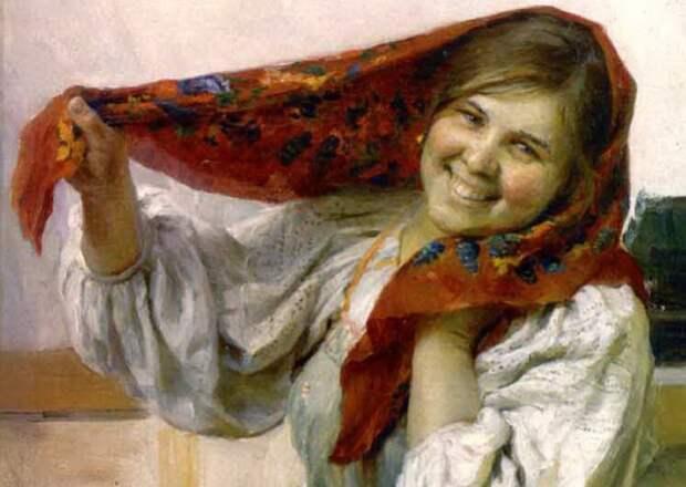 Как наводили красоту крестьянки на Руси