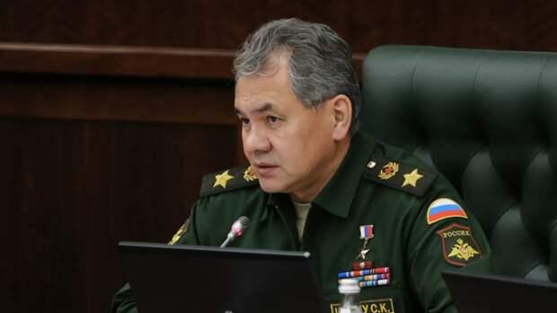 Шойгу заявил о неспокойной обстановке на границе Союзного государства