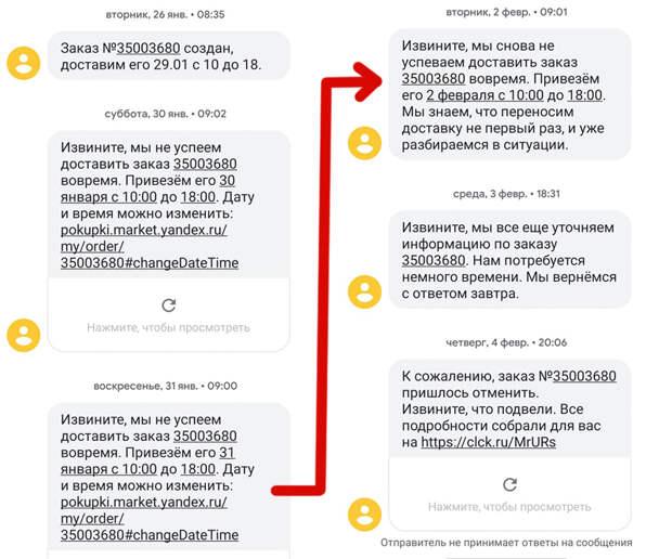 Осторожно: Яндекс.Маркет