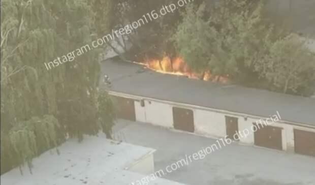 Казанцы заметили черный дым уПАТП-4