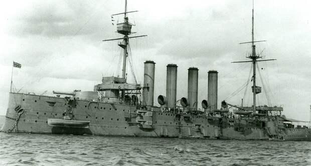 Британский крейсер