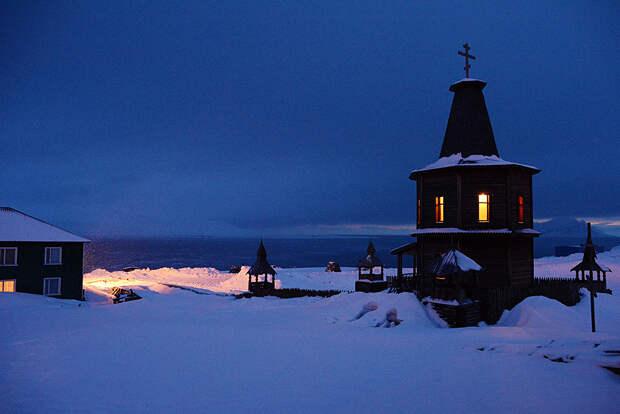 Где находится самая северная русская церковь в мире? (ФОТО)
