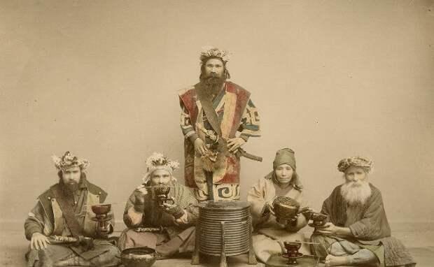 Айны. Аборигены Японских островов.