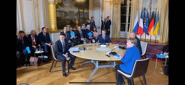 Начало переговоров в Париже