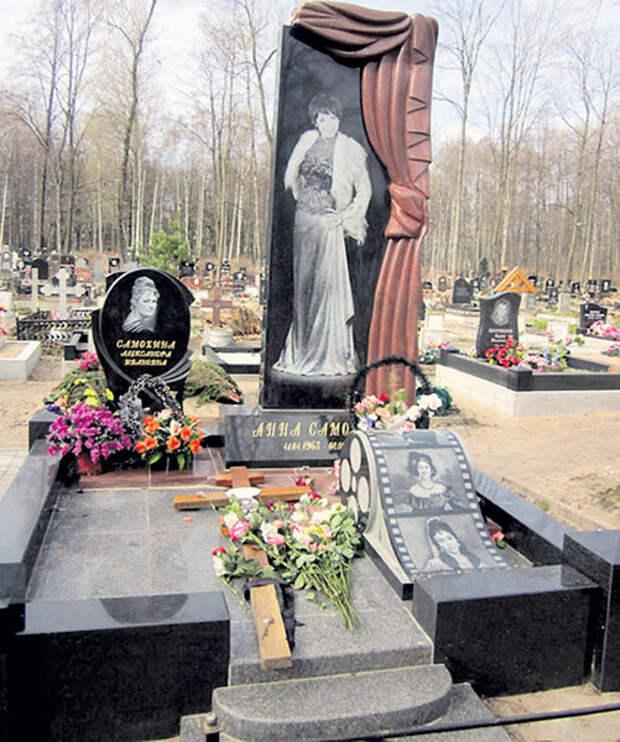 Кинозвезда похоронена на Смоленском кладбище в Санкт-Петербурге. Фото с сайта m-necropol.ru