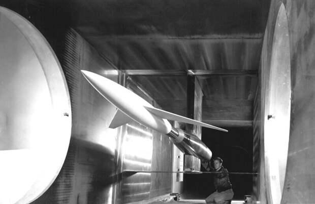 Тест ваэродинамической трубе