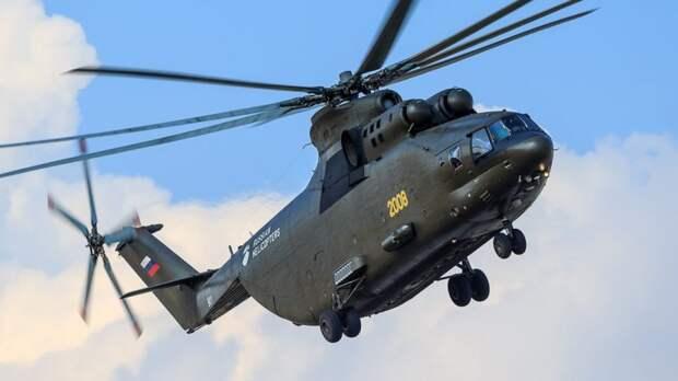 Россия запустит в производство самый тяжелый серийный арктический вертолет
