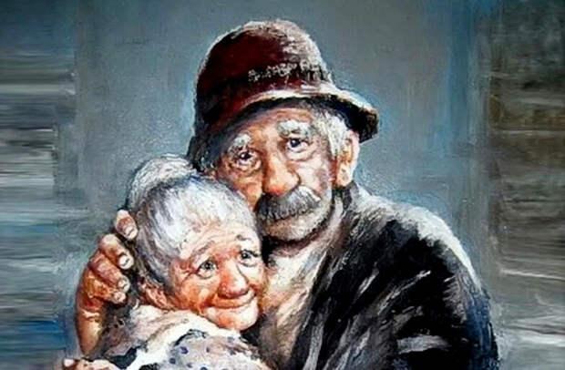 Добрые анекдоты про наших милых стариков