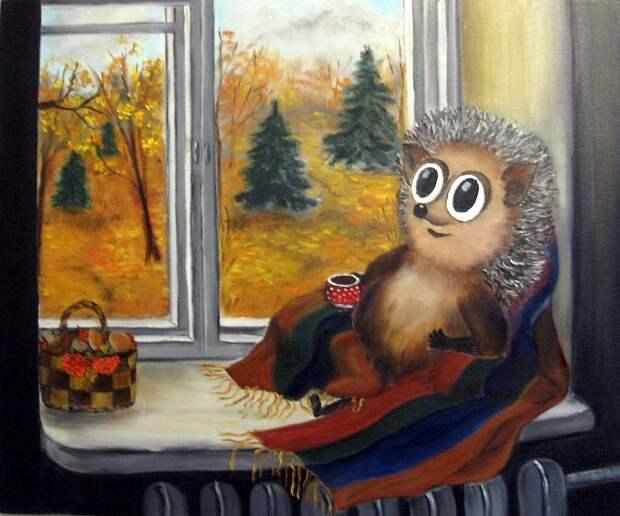 Милый рисунок. Осень жизни