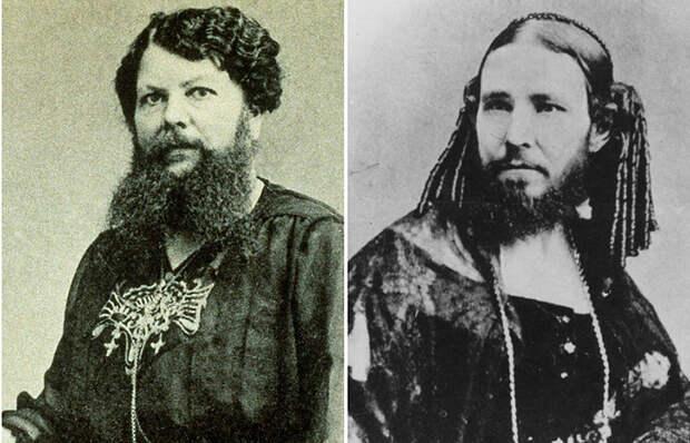 Самые знаменитые бородатые женщины
