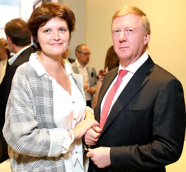 Авдотья Смирнова и Анатолий Чубайс. / Фото: www.proexpress.com.ua