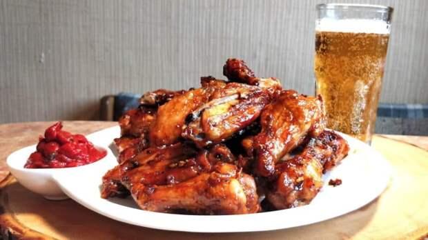 Куриные крылышки запечённые в пиве. Абсолютный хит сезона на вашем столе
