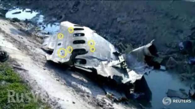 Падение украинского «Боинга» — на кадрах поражающие элементы ракет ПВО (ФОТО)   Русская весна