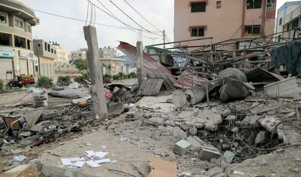 Число жертв обстрелов израильской армией в секторе Газа выросло до 67