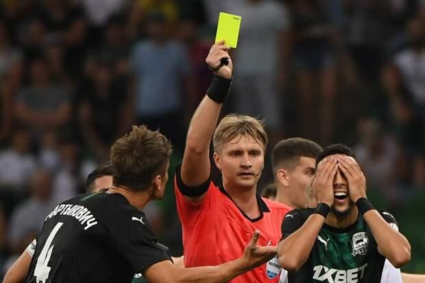 УЕФА отстранил футбольного судью Лапочкина на 90 дней