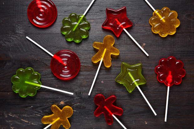 Готовим леденцы и конфеты в домашних условиях