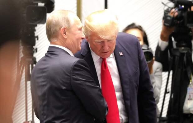 Путин охарактеризовал Трампа: «яркая личность»