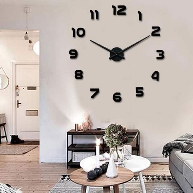 Часы в интерьере фото 31
