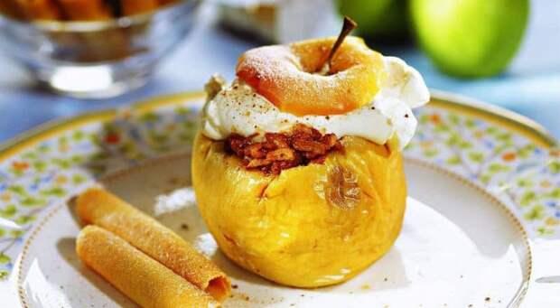 Запечённые яблоки с ореховой приправой. Вкусный и полезный десерт, который могут не причинит вреда фигуре 2