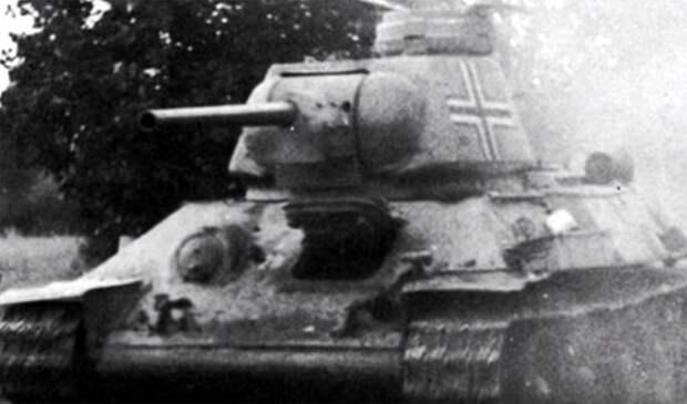 Как гитлеровцами дооснащались трофейные танки Т-34