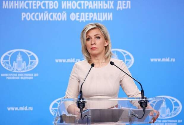 Захарова сочла реакцию Запада на инцидент с самолетом в Минске «истерикой»