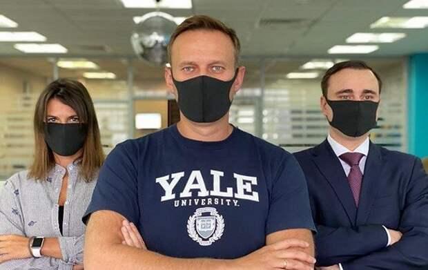Команда Навального планирует устроить в России истерию из-за коронавируса навальный, соболь, фбк