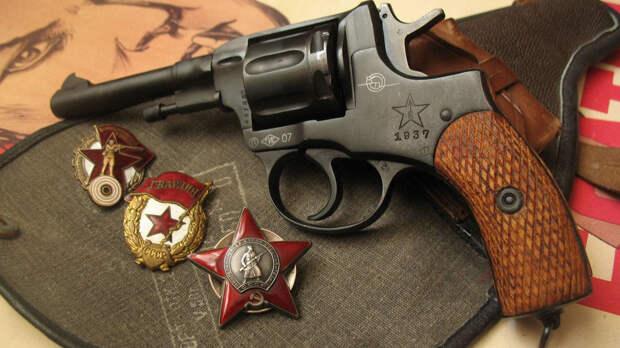 Револьвер системы «Наган» — символ революции 1917 года