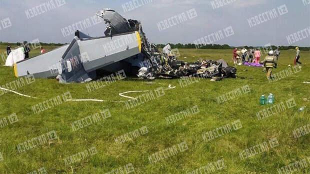 Два пилота и два инструктора погибли при крушении L-410 в Кузбассе