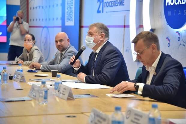 Московские единороссы внесут в Народную программу партии предложения по сохранению водоемов столицы