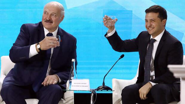 Лукашенко о Зеленском: «Володя адекватный, но у него не хватает сил»