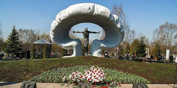 На Митинском кладбище пройдет мемориальная акция