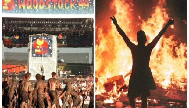 Мошпит, огонь и вонь: как проходил фестиваль Вудсток в 1999году