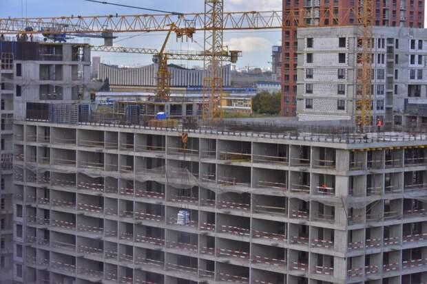 «Реновационный» дом на Пулковской будет готов к заселению в 2022 году