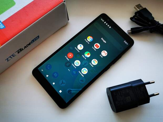 Дёшево и работоспособно: обзор смартфона zte Blade l210