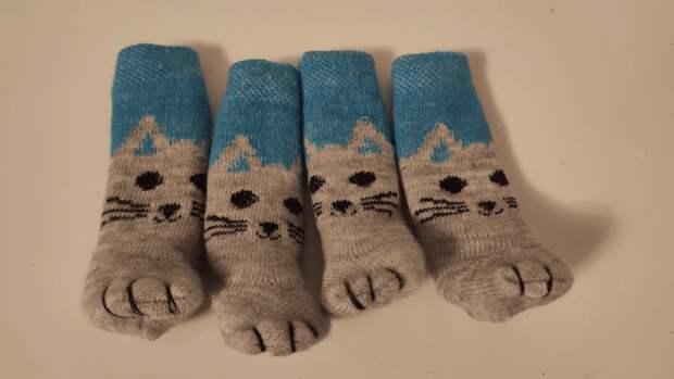 Неожиданно и симпатичный результат: старые носки в новом амплуа
