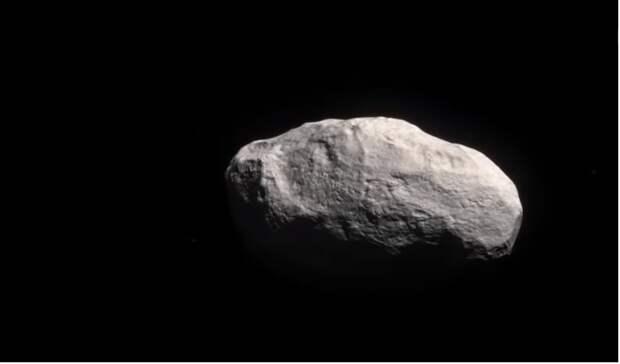 К Земле летит астероид, на котором находится пирамида.
