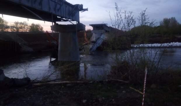 ЧПвОренбуржье: наавтомобильной трассе вреку Салмыш обрушился мост