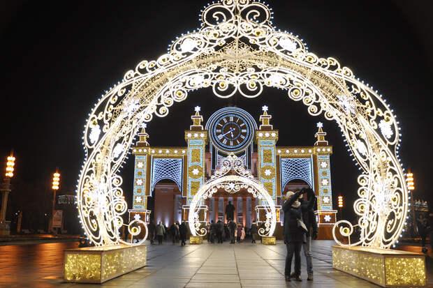Синоптик оценил вероятность дождя в Москве в новогоднюю ночь