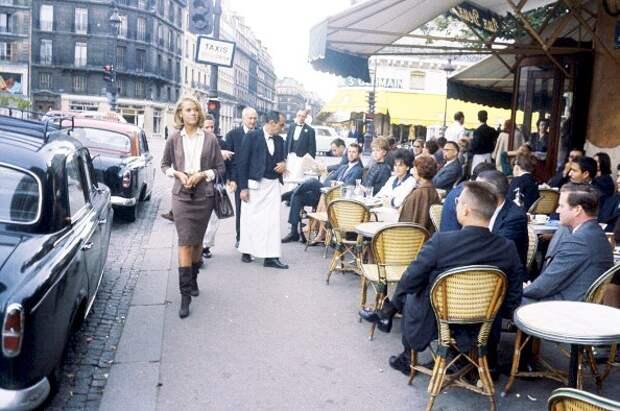 Прогулка по Парижу с Джейн Фондой 1963 год.