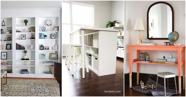 Новый взгляд на мебель из Икеи