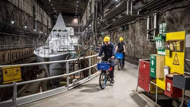 Флот под землёй. ВМС Швеции возвращается на базу Мускё