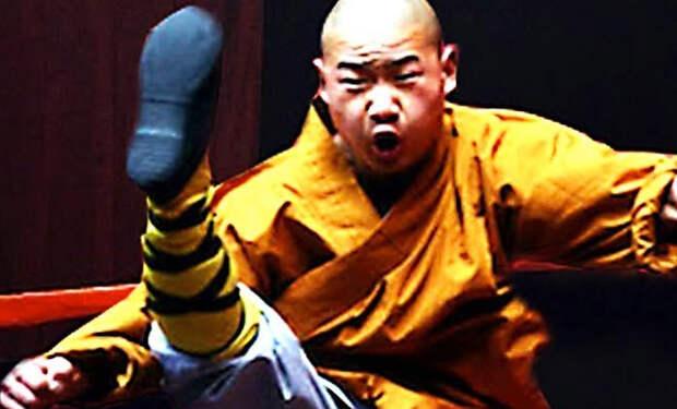 Монах Шаолиня непробиваем для ММА-бойцов