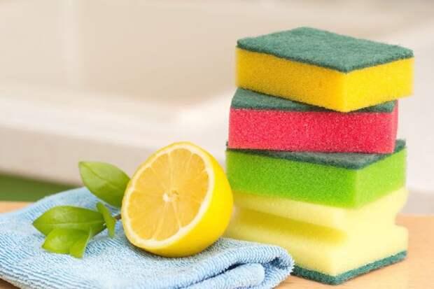 Как отмыть микроволновку с помощью лимона