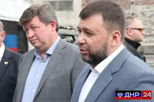 Глава ДНР отметил ненадлежащее качество дорог в Торезе