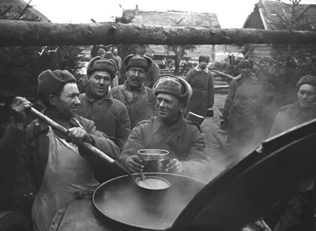 Чем паёк красноармейцев отличался от еды солдат вермахта