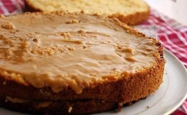 Медовый бисквит - нежность вкуса!
