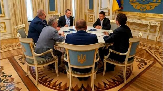О чем говорил Зеленский с членами запрещенной в РФ Меджлиса