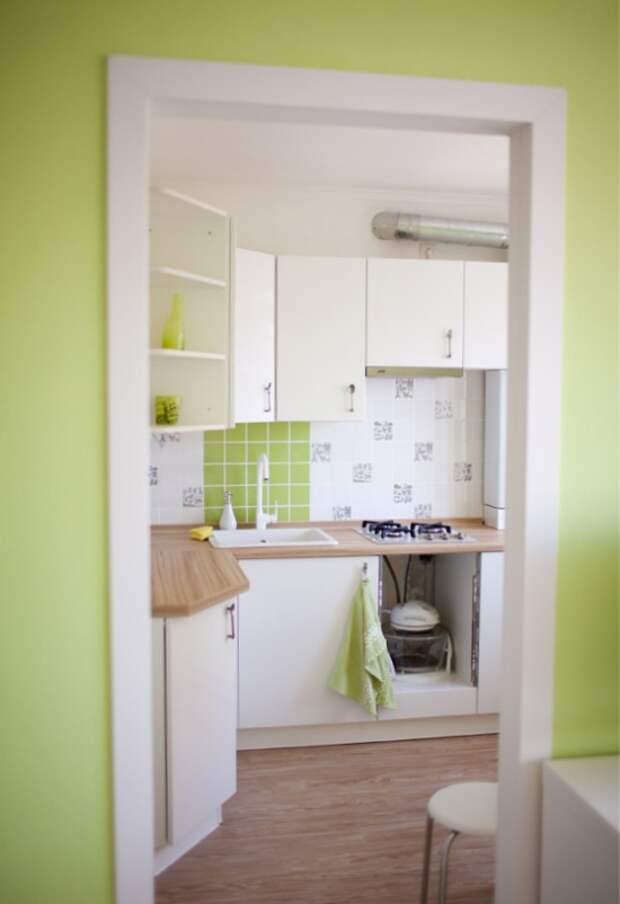 дверной проем на кухне