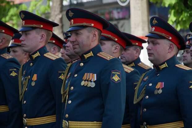 В Симферополе прошла генеральная репетиция парада ко Дню Победы. Фоторепортаж