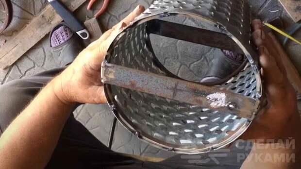Как сделать барабанную терку своими руками